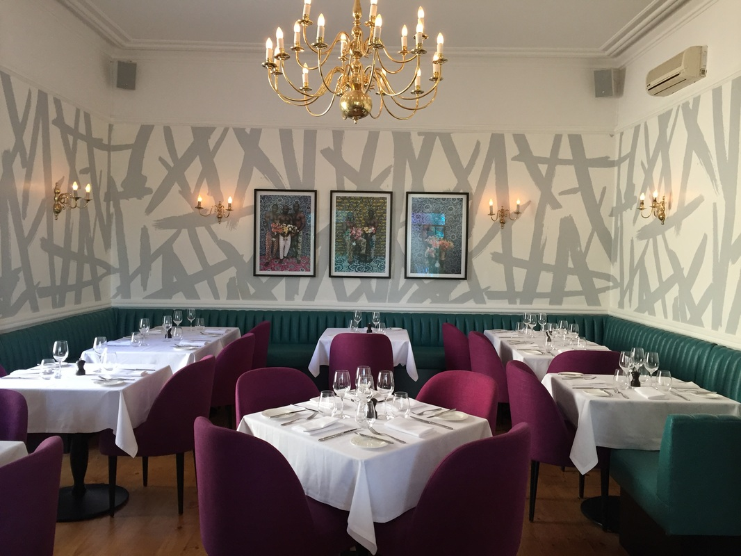 Dining Area at The Stack, French Brasserie & Members Club