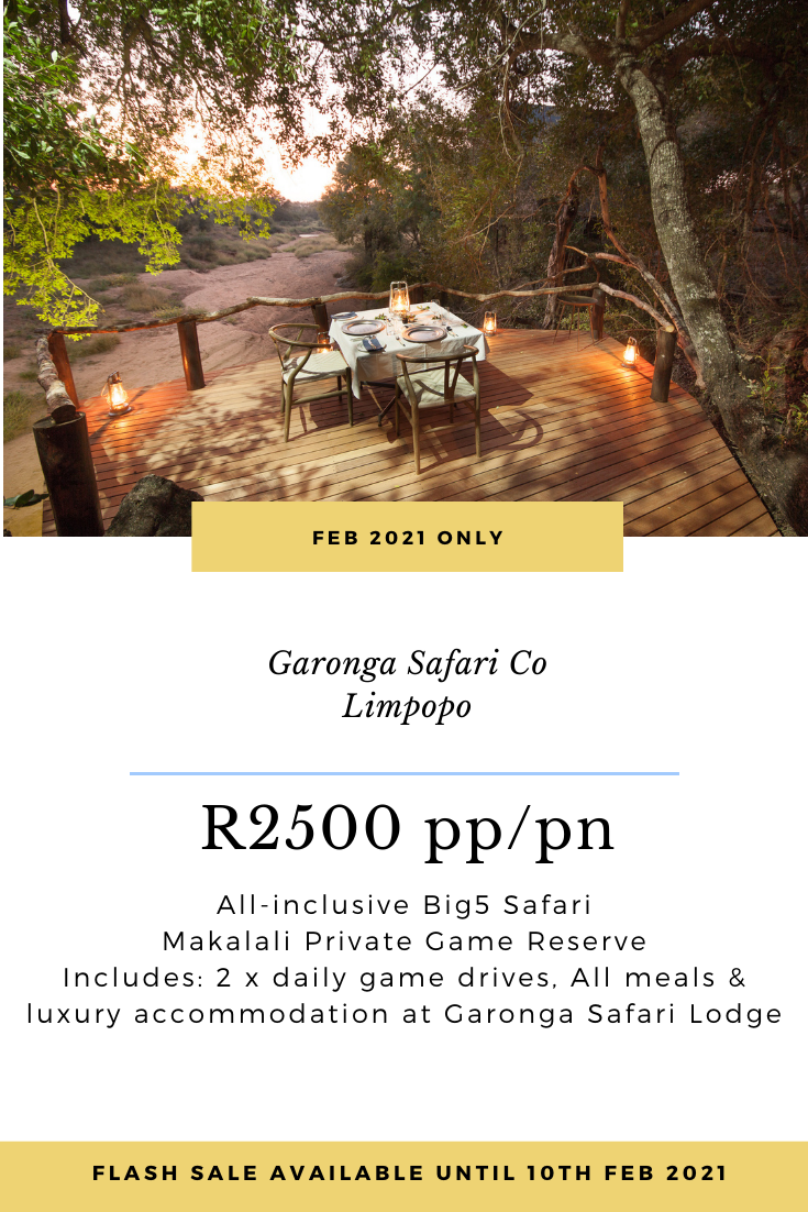 Garonga Budget Luxury Safari, South Africa